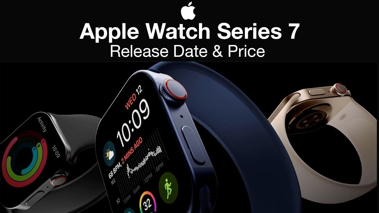 Apple Watch 7 Release Date and Price – AMAZING NEW DESIGN LEAKS!