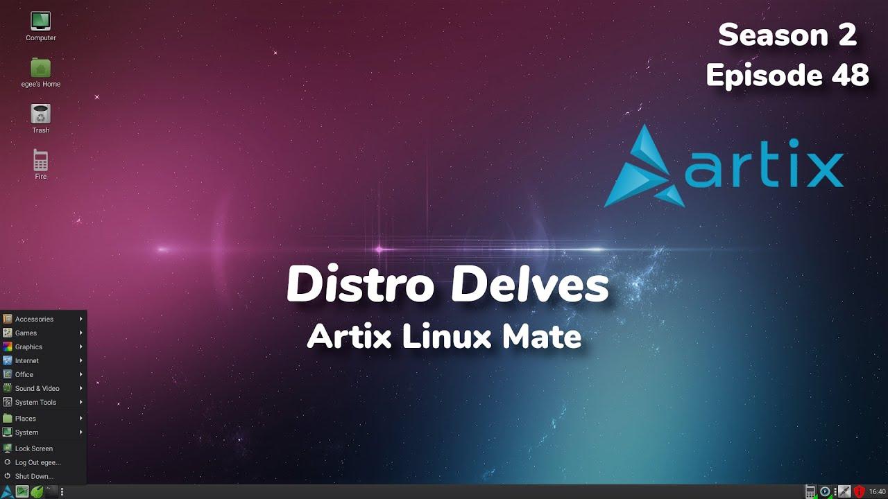Artix Linux w/MATE Desktop & Runit | Distro Delves S2:Ep48