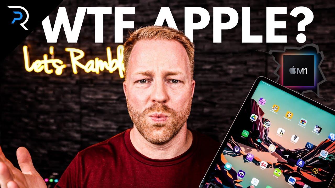 WTF Apple?!! - Did iPadOS15 just kill the M1 iPad Pro?