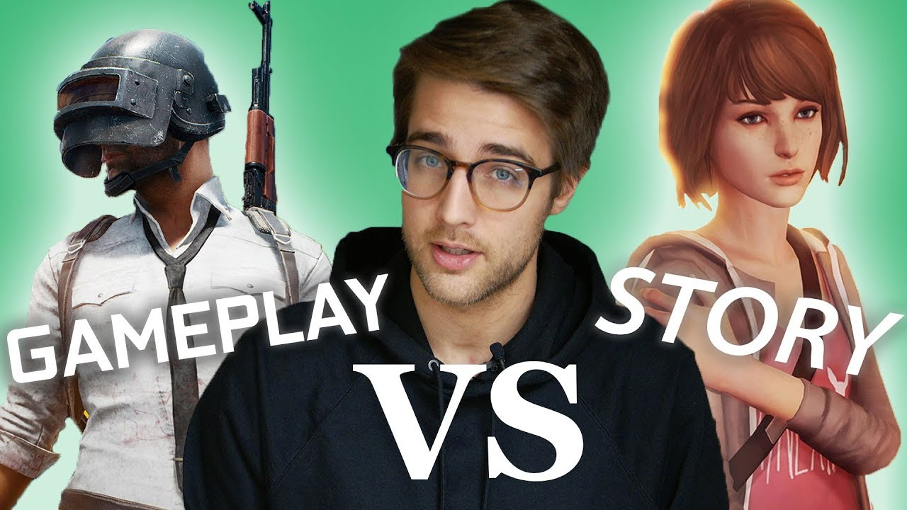 What Video Games Are: Games vs Story
