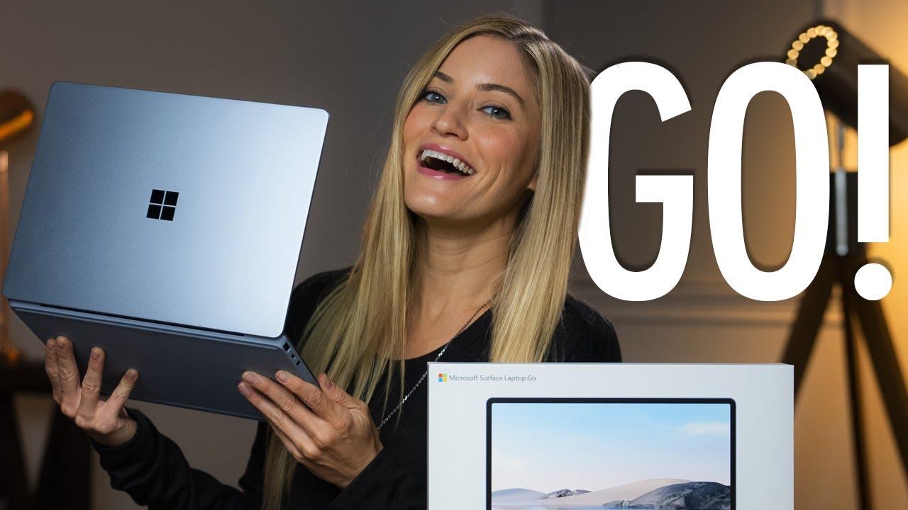 Microsoft Surface Laptop Go Unboxing!