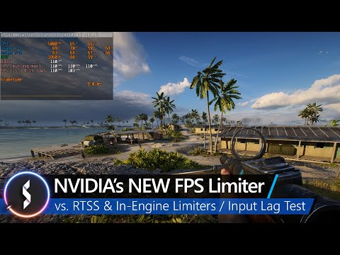 NVIDIA's NEW FPS Limiter vs. RTSS & In-Engine Limiters / Input Lag Results