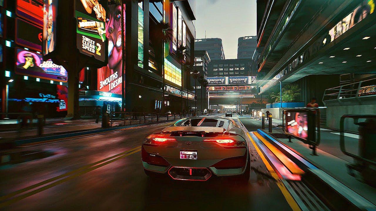 CYBERPUNK 2077 - Night Free Roam Gameplay (Ray Tracing 4K 60FPS ULTRA)