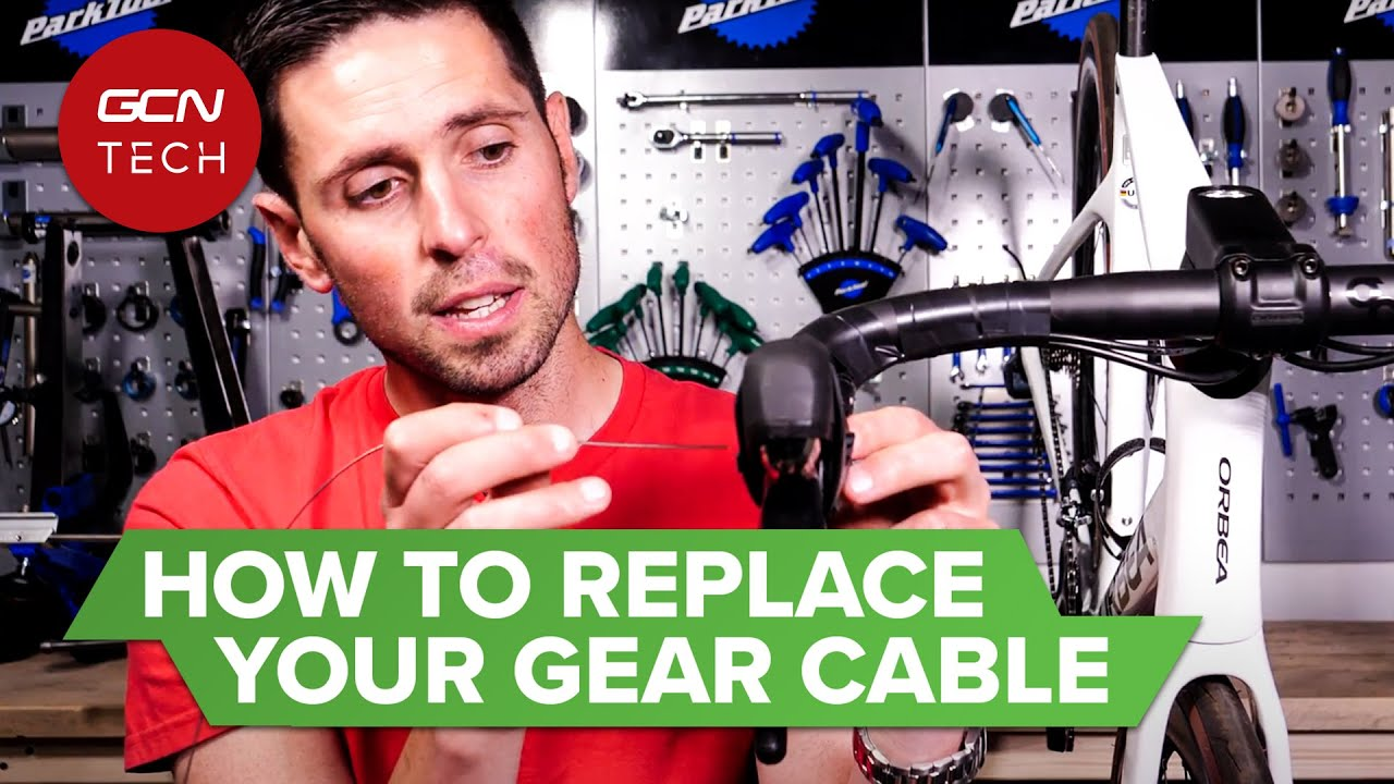 How To Replace A Gear Cable On A Road Bike | GCN Tech Monday Maintenance