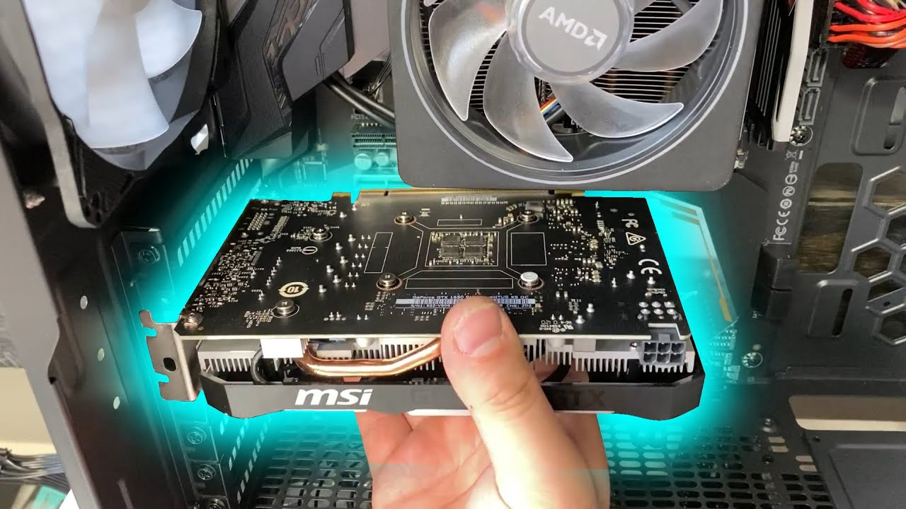 How to Install a Graphics card into your PC