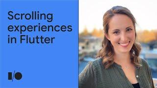 Building scrolling experiences in Flutter | Workshop