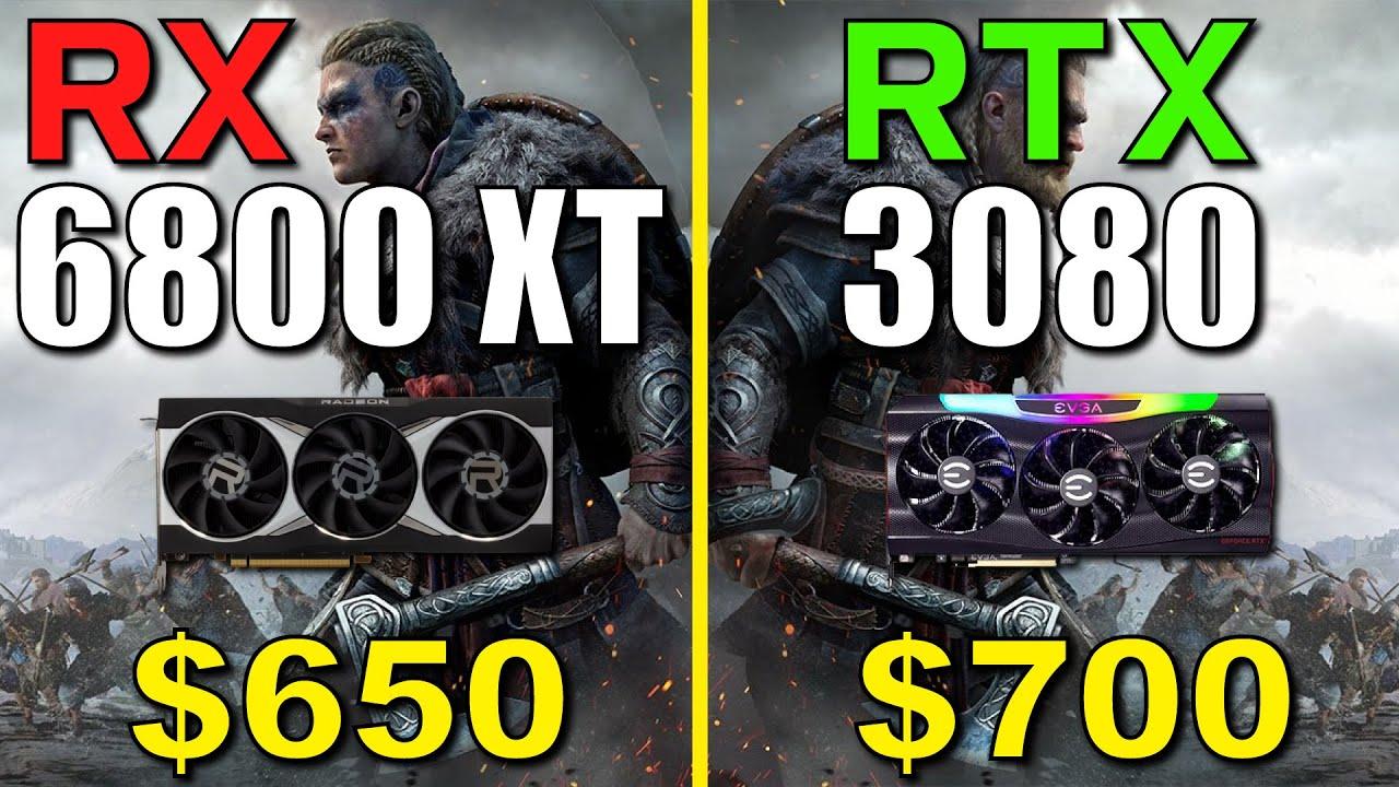 RX 6800 XT vs. RTX 3080 | Test in 9 Games | 1440p
