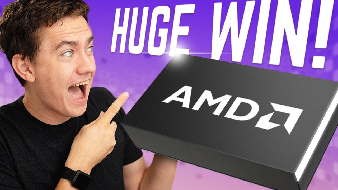 AMD's Biggest Flex Is Here