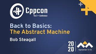 Back To Basics CppCon 2020