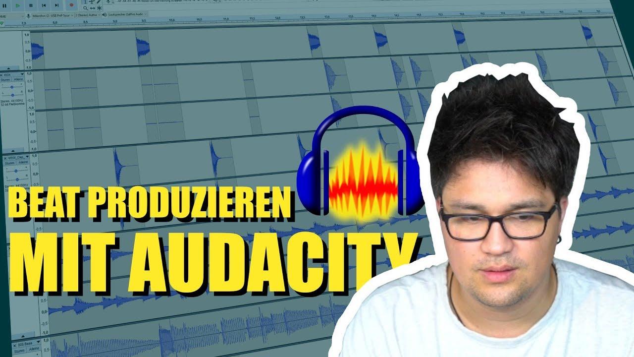 Einen Beat produzieren nur mit Audacity (Challenge) | Vincent Lee