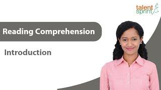 Reading Comprehension I English Language | TalentSprint Aptitude Prep