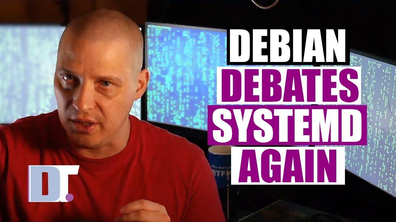 Debian Debates Systemd Alternatives
