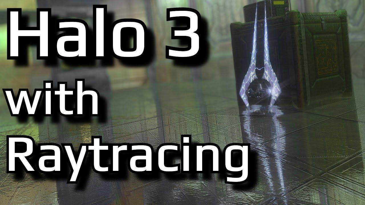 Enhancing the graphics of Halo 3 with Raytracing Reshade   Modding MCC's graphics