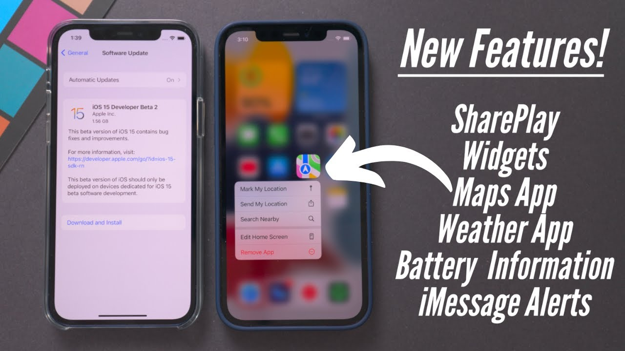 iOS 15 Beta 2 Released! 15+ New Features & Changes!
