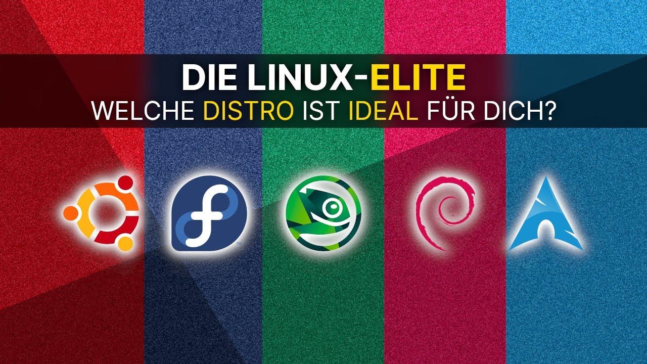 Die Linux-Elite - welche Distro ist IDEAL für Dich? | #Linux