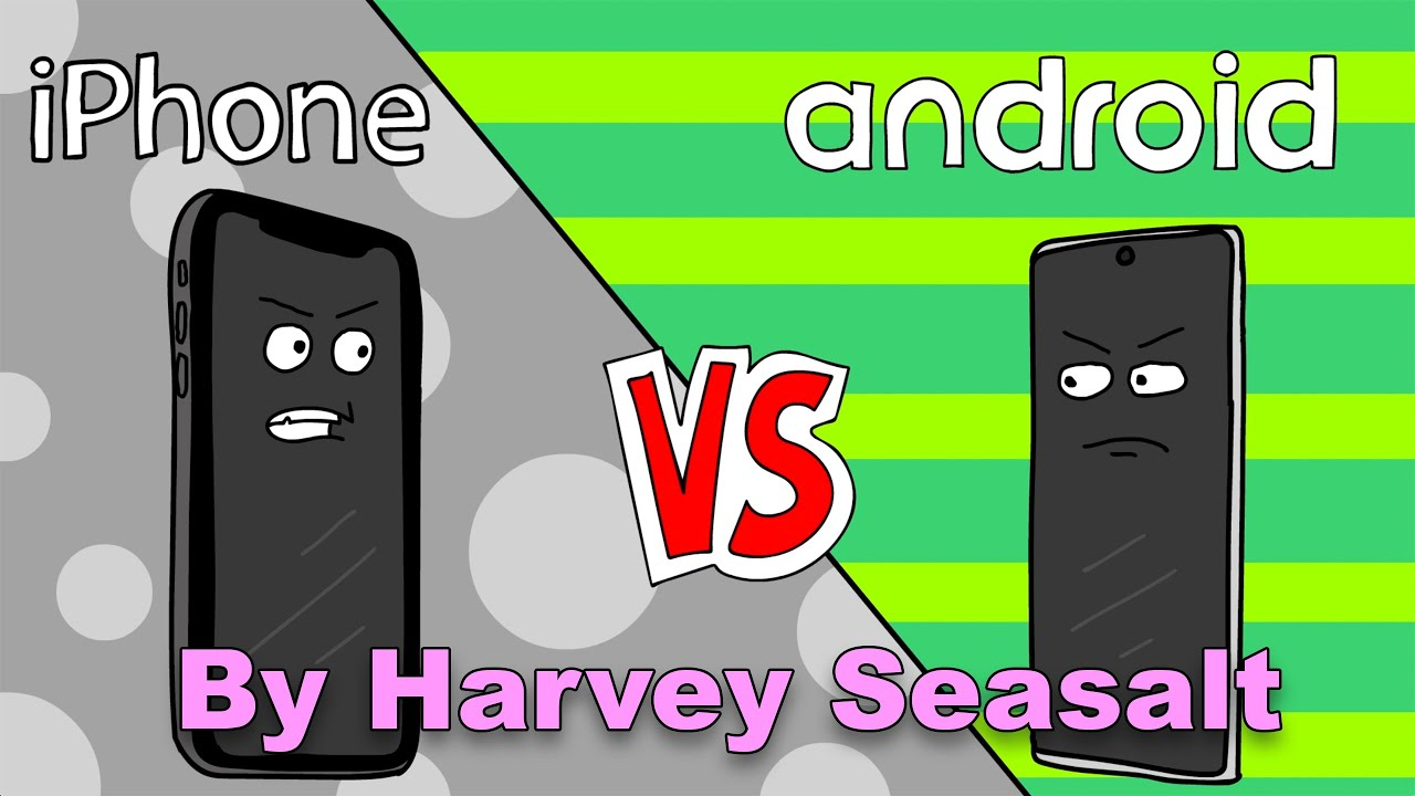 """""""iPhone vs Android"""""""