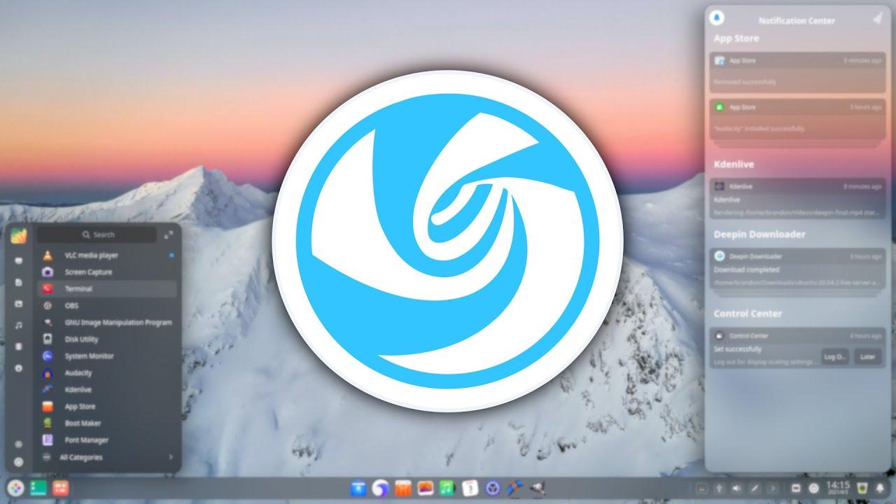 Deepin Linux 20.2 - Stunning macOS Big Sur Replacement?