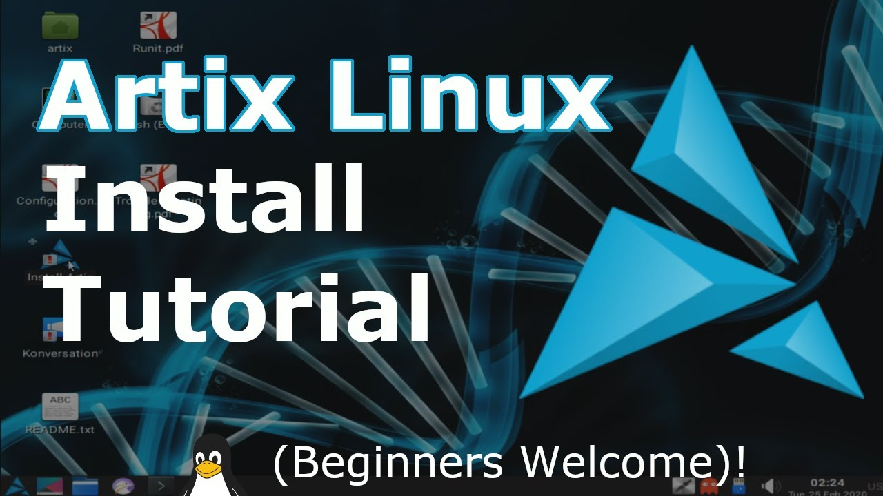Artix Linux Install Tutorial (with RUNIT System/Service Manager) | 2021 | Linux Beginners Guide