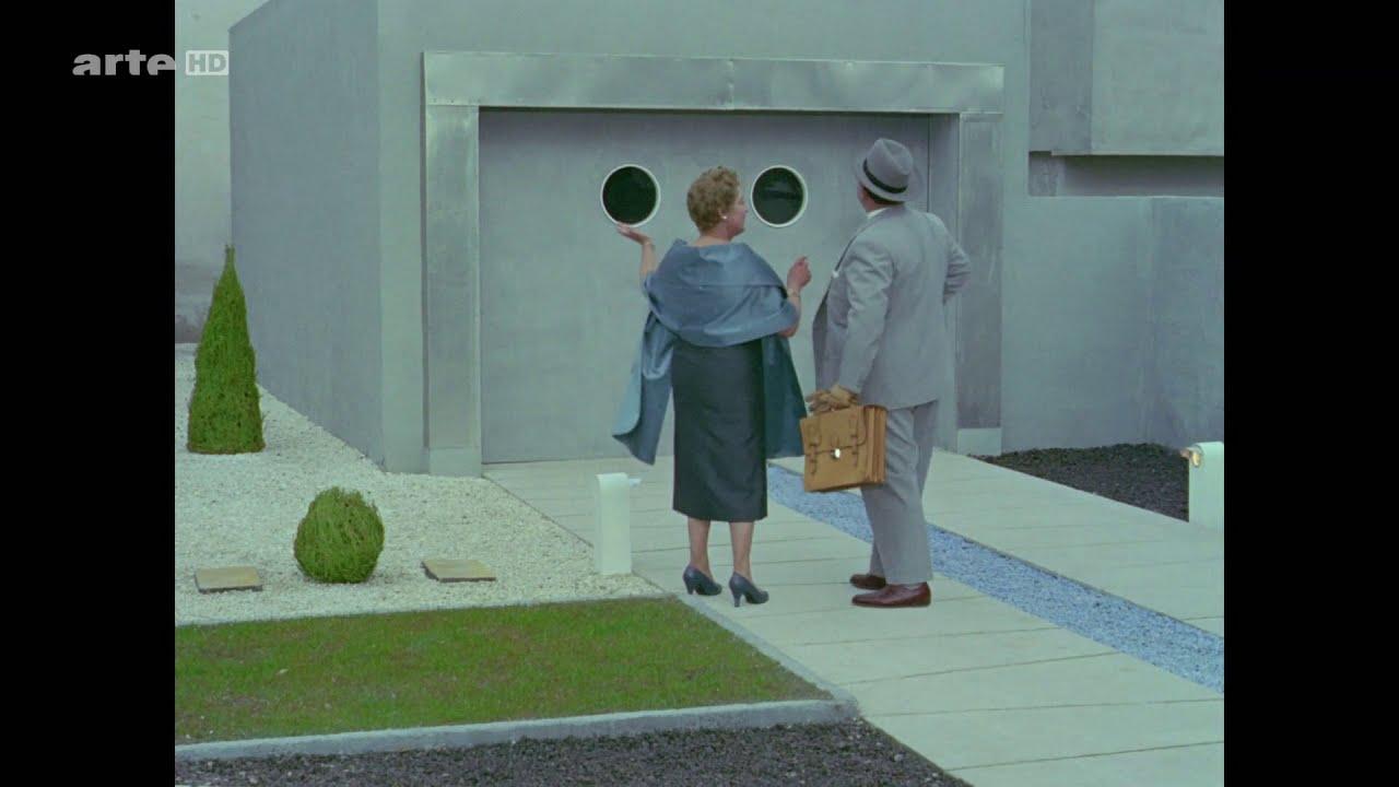 """Jacques TATI - Extrait du film """"MON ONCLE"""" - 1958"""