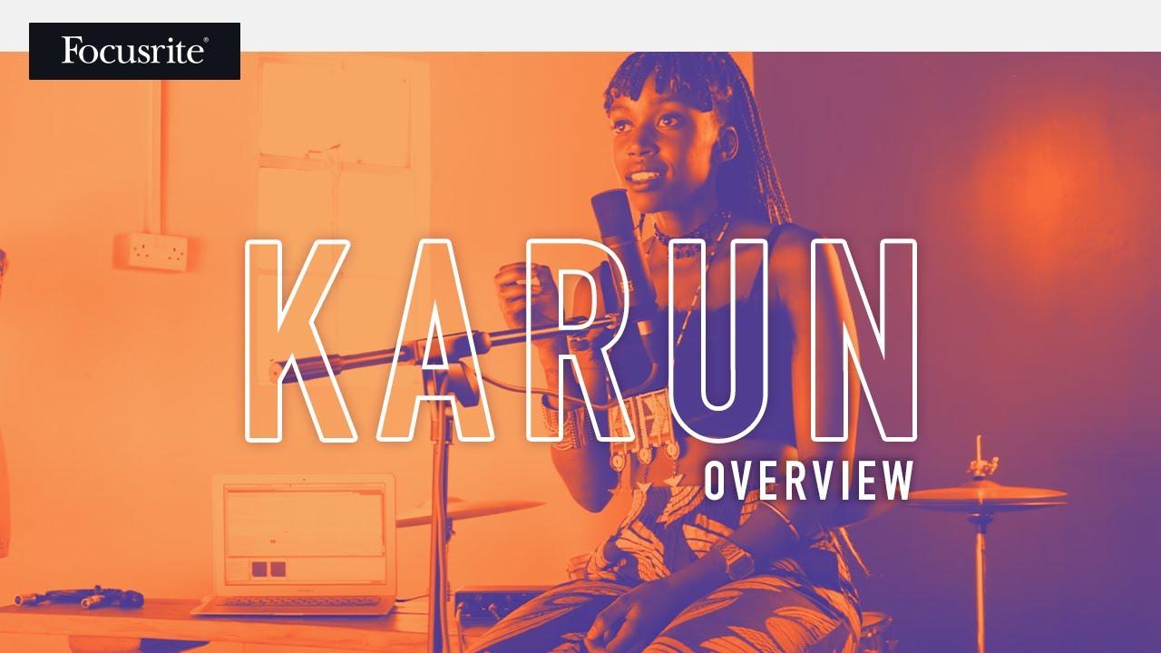 Focusrite // Scarlett 2i2 3rd Gen - Overview feat. Karun