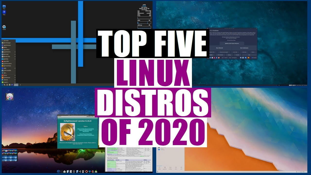 The Top Five Linux Distros Of 2020