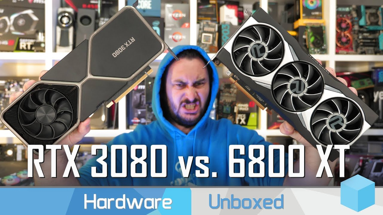 Radeon RX 6800 XT vs. GeForce RTX 3080, 30 Game Benchmark: 1080p, 1440p & 4K