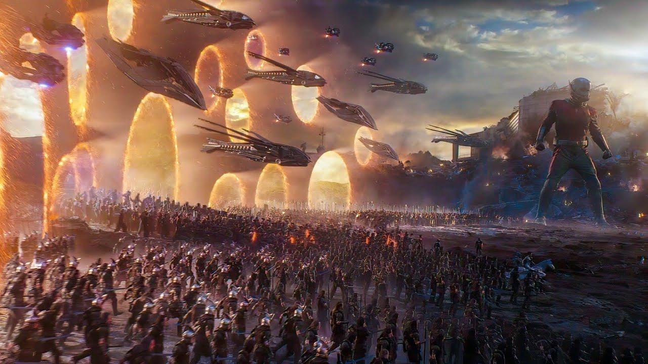 """Captain America """"Avengers Assemble"""" Scene - Portal Scene - Avengers : Endgame (2019) Scene"""