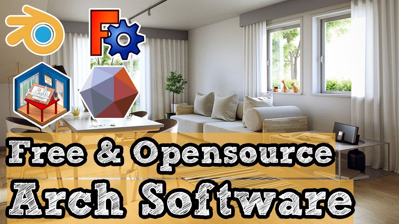 Free and Open source Architecture software