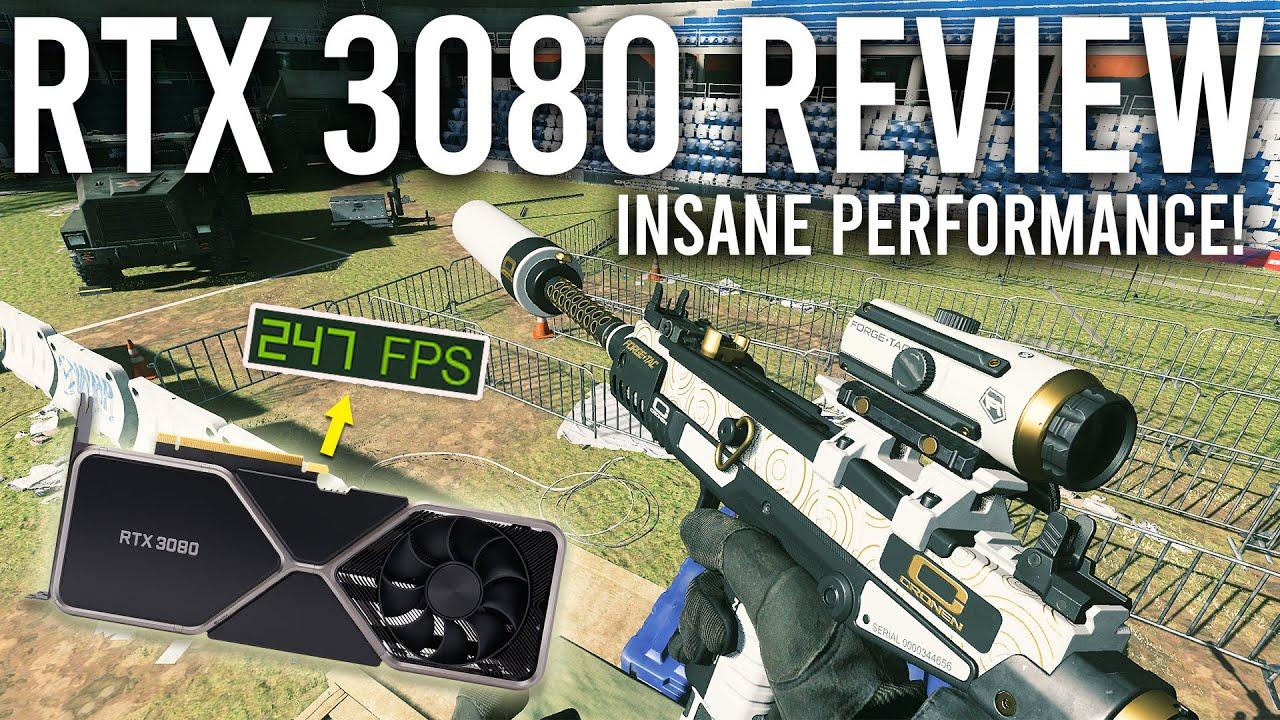 RTX 3080 Review - INSANE Performance!