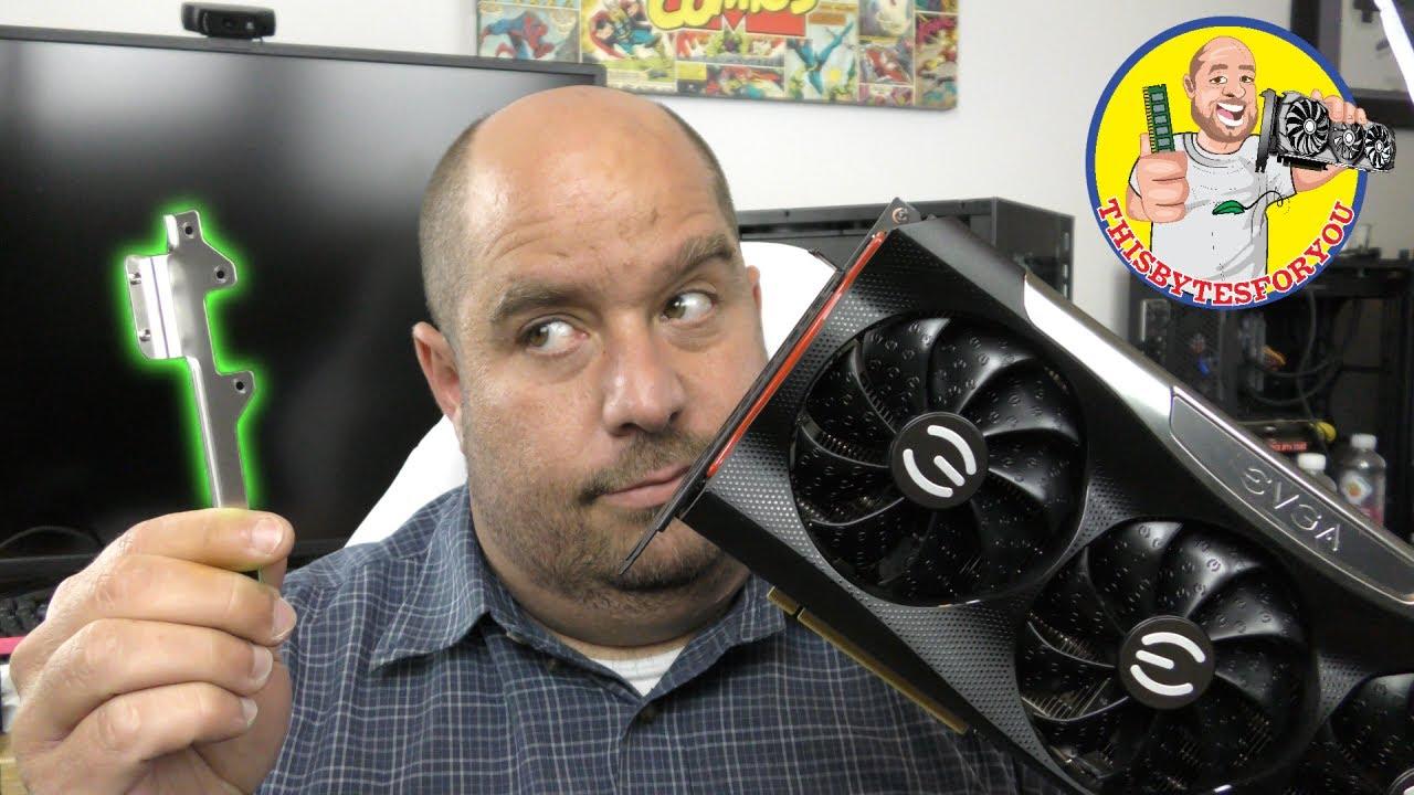 RTX 3090 - Fixing GPU Sag on the EVGA Geforce RTX 3090 FTW3 Ultra Gaming