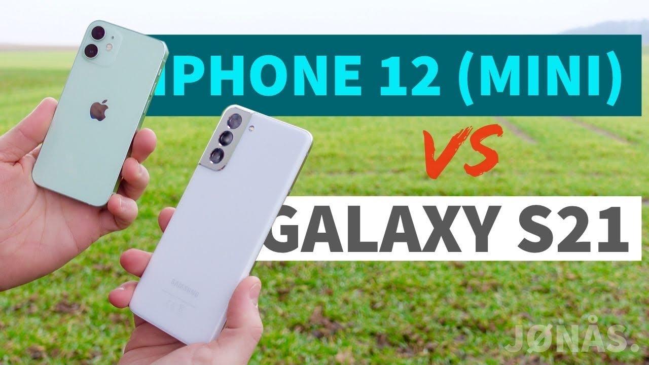 iPhone 12 oder Galaxy S21 - der Vergleich: Apple VS Samsung 2021!