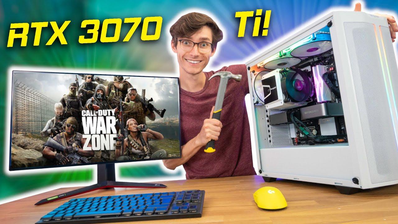 My BEAST RTX 3070 Ti Gaming PC Build 2021 - Ryzen 5600X, 500DX, Ray Tracing Gameplay Benchmarks | AD