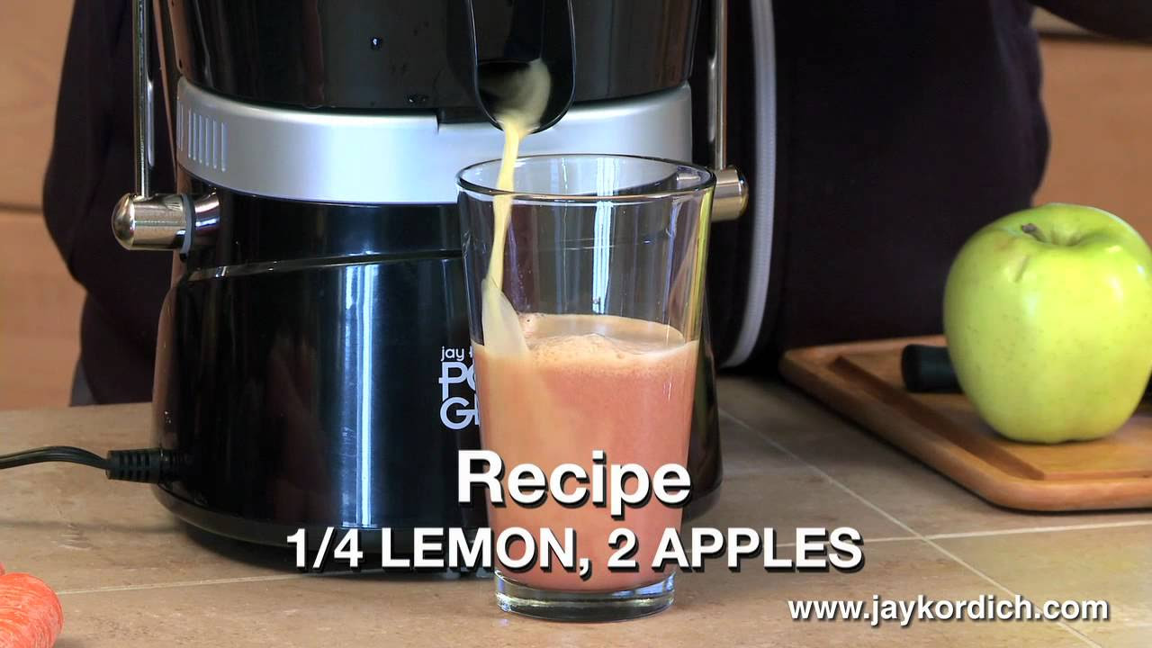Jay Kordich makes his Famous Lemonade