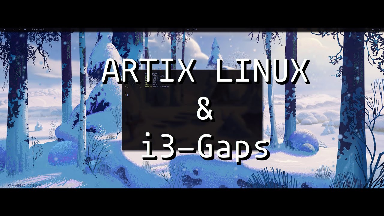 Artix Linux i3 Ricing