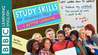 Study Skills - Because better learners speak better English