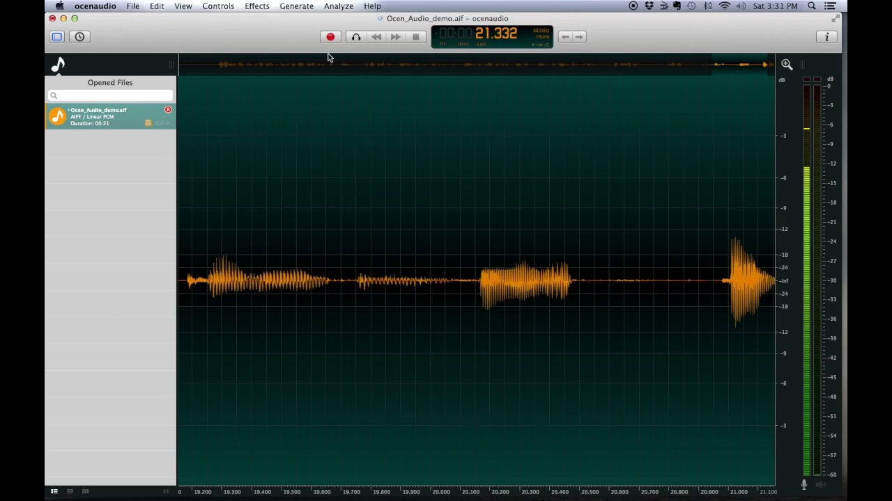 How to Set Up OcenAudio for Voiceover