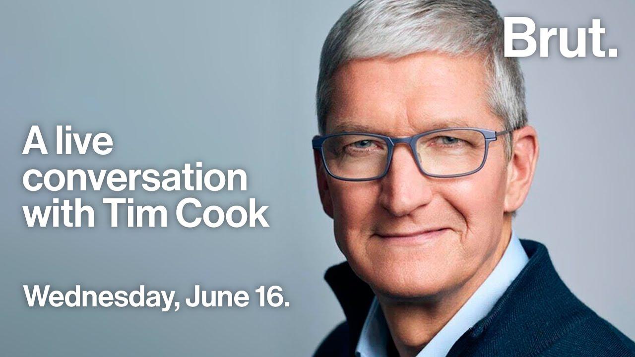 A live conversation with Tim Cook #VivaTech