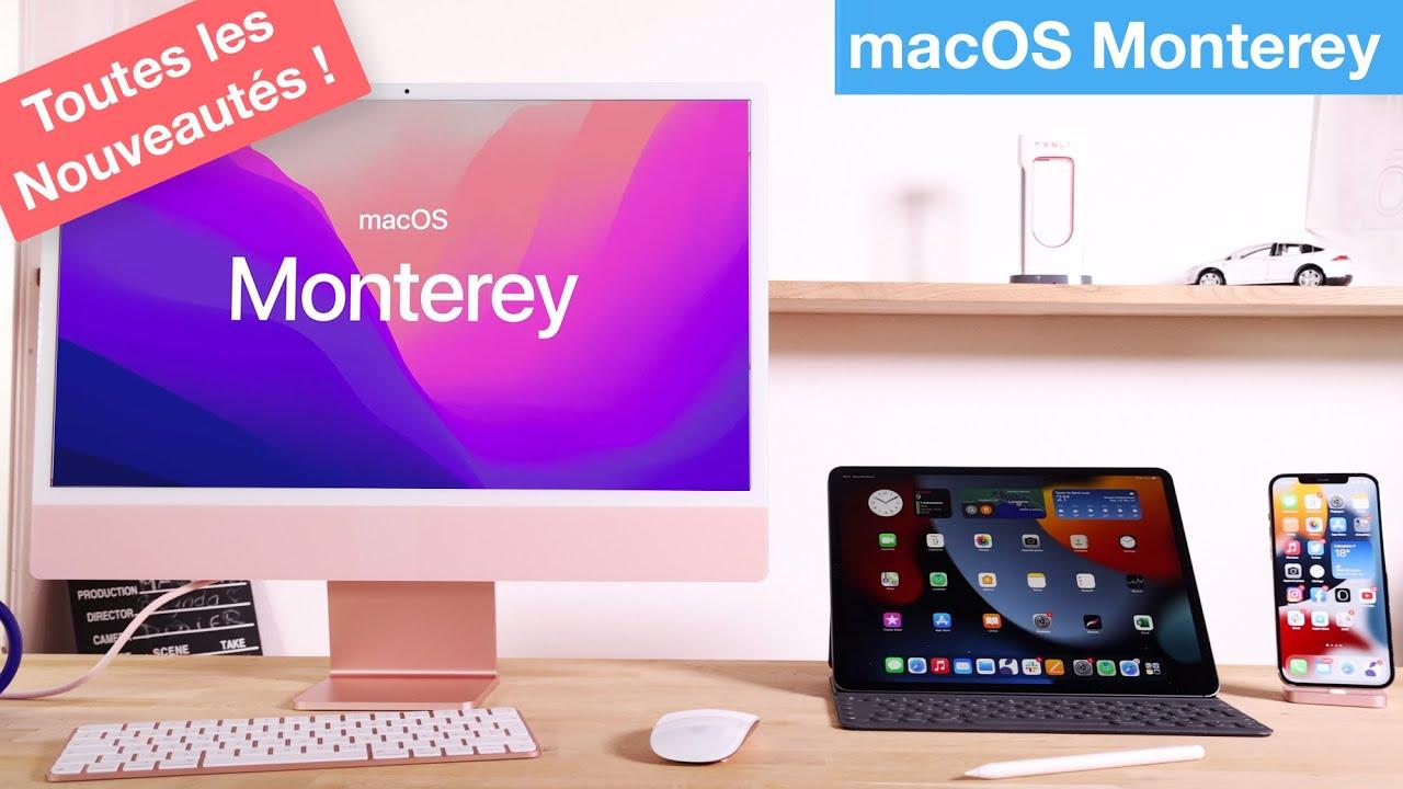 macOS Monterey : toutes les nouveautés !