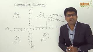 Coordinate Geometry | Quantitative Aptitude | TalentSprint Aptitude Prep | SSC CGL | SSC CHSL | Railways | Insurance Exams | Competitive Exams 2020