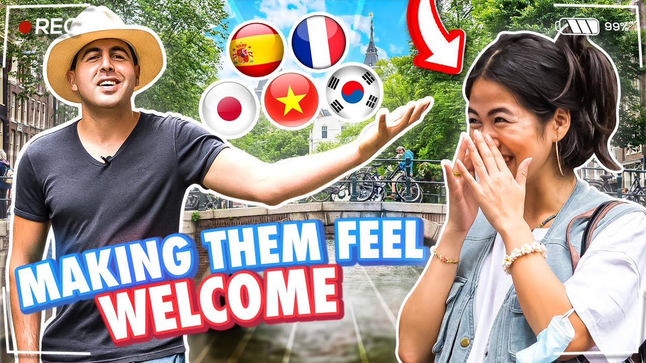 Making Foreigners Feel Welcome by Speaking Their Native Language