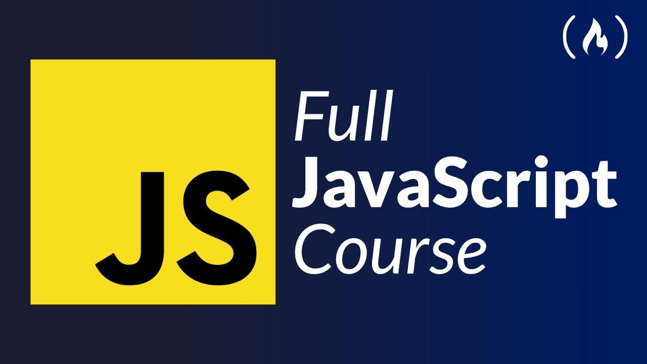 JavaScript Programming - Full Course