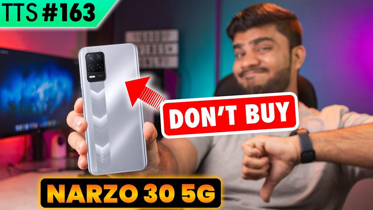 DON'T BUY Realme Narzo 30 5G | TTS Tech News #163