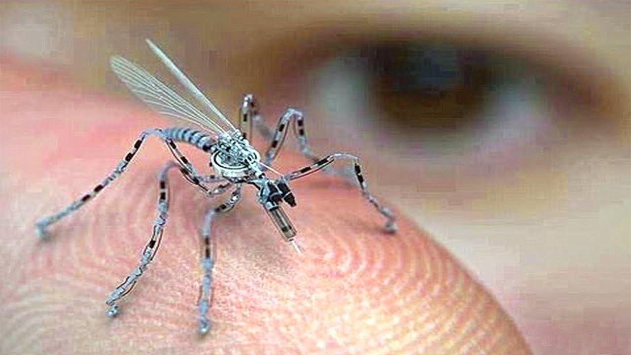 10 TINY Micro Robots and Nano Drones