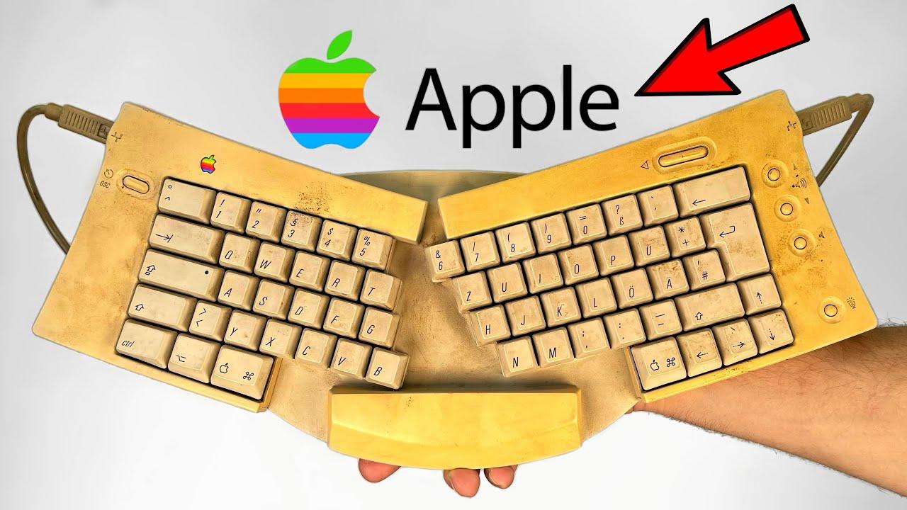 Apple Keyboard Restoration - Yellowed Plastic Retrobright