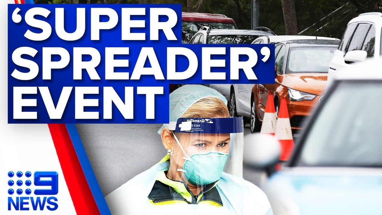 Sydney party dubbed 'super spreader' event   9 News Australia