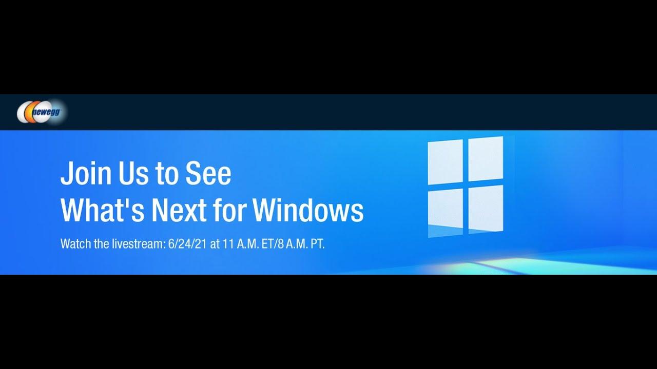 Microsoft Windows 11 Launch Event - Watch the LIVE Stream!