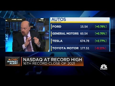 Jim Cramer: Tech stocks that bottomed on May CPI numbers are now roaring back