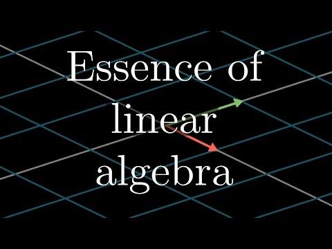 3Blue1Brown: Linear Alg