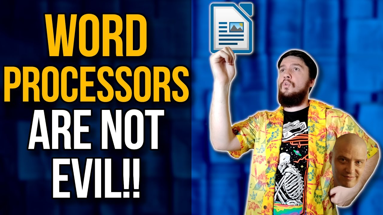 DistroTube Is Wrong About Word Processors!