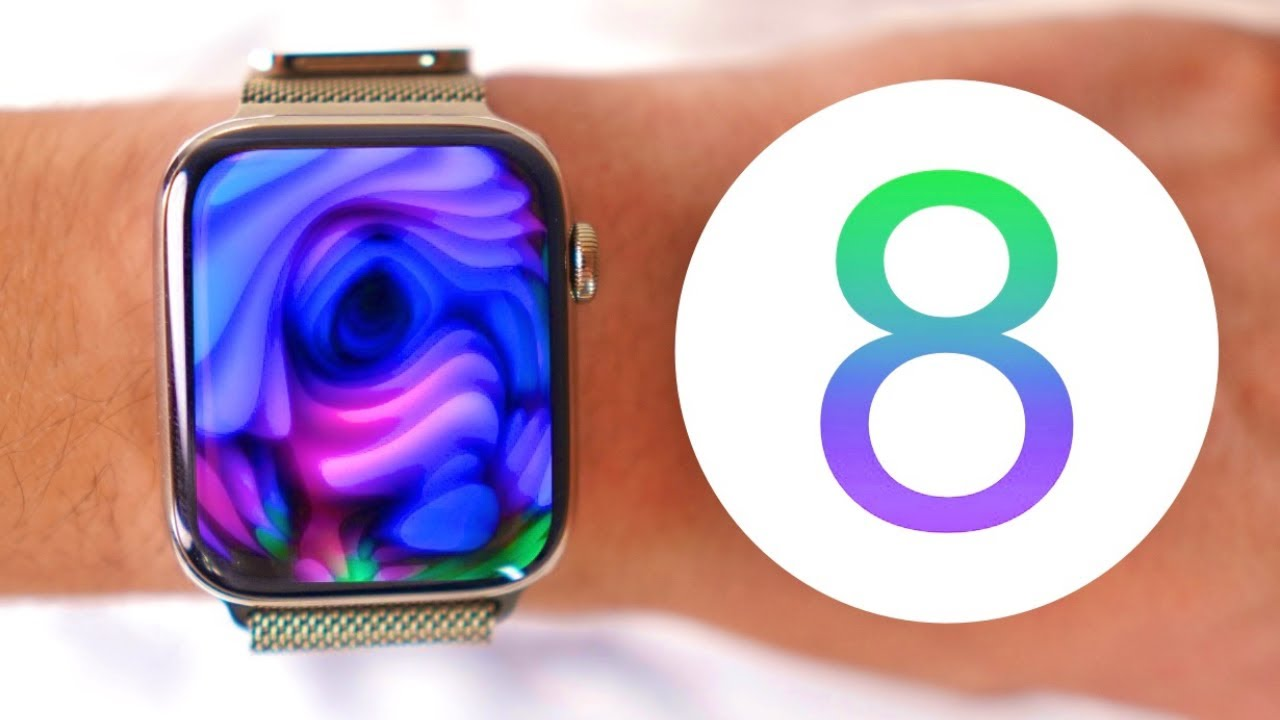 🔥 watchOS 8 | +40 new features & changes for Apple Watch!